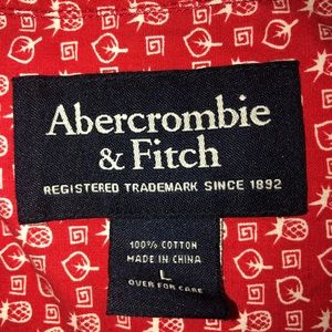 Abercrombie & Fitch Shirts - Abercrombie & Fit Men's Short Sleeve